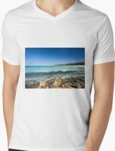Meelup Beach, Dunsborough, Western Australia Mens V-Neck T-Shirt