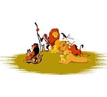 The Lion King by idjitdesigner
