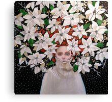 December Girl Canvas Print