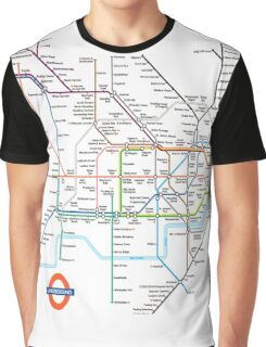 London Underground Graphic T-Shirt