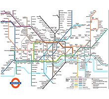 London Underground Photographic Print