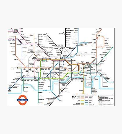 London Underground Photographic Print