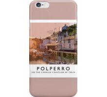 Polperro (Railway Poster) iPhone Case/Skin