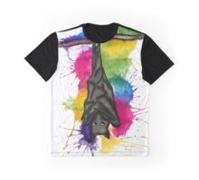 Bat Splat  Graphic T-Shirt
