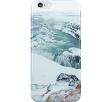 Gullfoss Waterfall in Iceland. iPhone Case/Skin