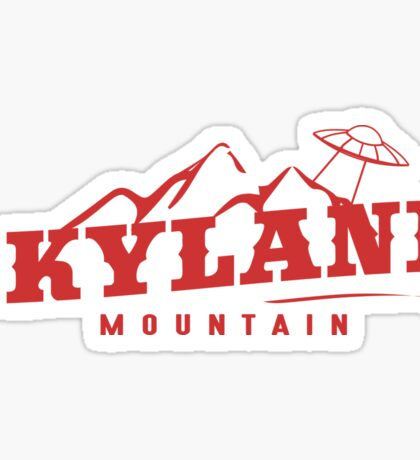 The X Files: Skyland Mountain  Sticker