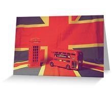 Best of British Greeting Card