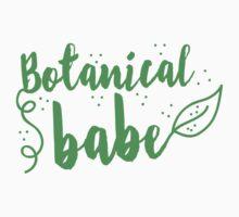 Botanical Babe  One Piece - Short Sleeve
