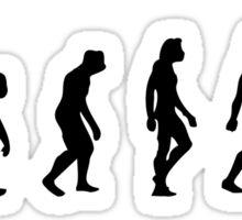 The Evolution of Breakdancing Sticker