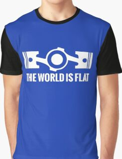 The World is Flat Graphic T-Shirt