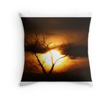 Gloom - Tree Throw Pillow