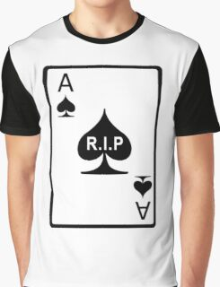 Rest in Peace Ace of Spades Graphic T-Shirt