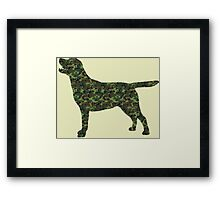 Camo Lab! Framed Print