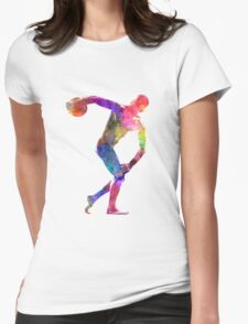 Discobolus Womens Fitted T-Shirt