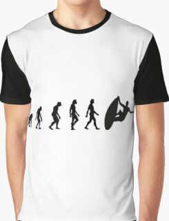 The Evolution of Surfing Graphic T-Shirt