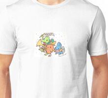 Crayon Hoenn Starters Unisex T-Shirt
