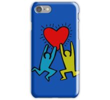 HARING - True Love iPhone Case/Skin