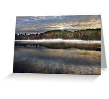Wilson Lake, Quebec Greeting Card