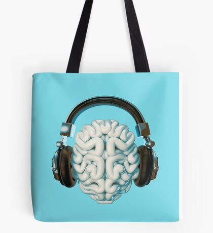 Mind Music Connection Tote Bag