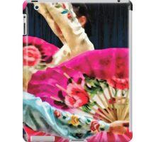 Traditional Korean Fan Dance iPad Case/Skin