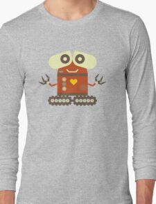 Cute Robot Long Sleeve T-Shirt