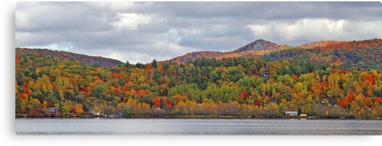 Fall in Mont Ste-Marie by Jim Cumming