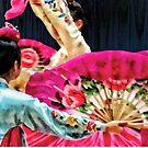Traditional Korean Fan Dance by Susan Savad