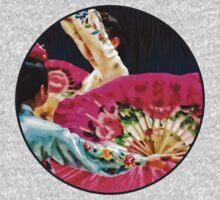Traditional Korean Fan Dance Kids Tee