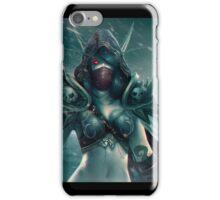 Sylvanas Fan Art iPhone Case/Skin