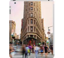 Flatiron building facade iPad Case/Skin