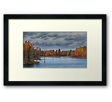 Cottage Bound, Kazabazua, Quebec Framed Print
