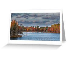 Cottage Bound, Kazabazua, Quebec Greeting Card