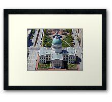 St Louis Capital Building Framed Print