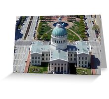 St Louis Capital Building Greeting Card