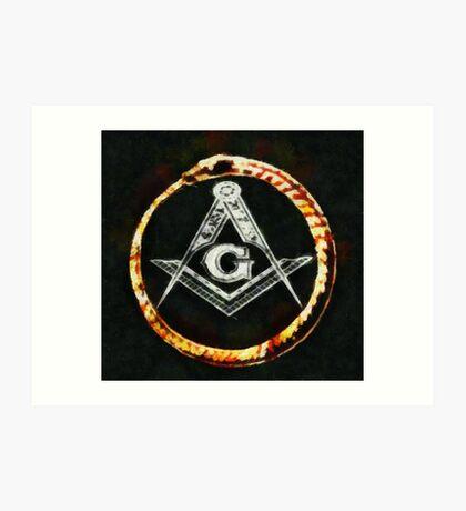 Freemason by Pierre Blanchard Art Print