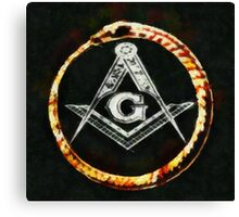 Freemason by Pierre Blanchard Canvas Print
