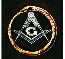 Freemason by Pierre Blanchard Photographic Print
