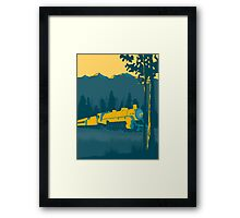 Train Ride Framed Print