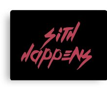 Sith happens Canvas Print