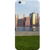 Manhattan sunset  iPhone Case/Skin