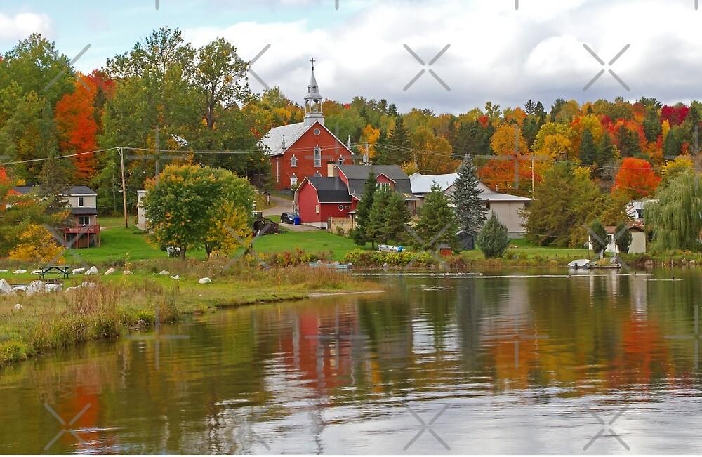 Autumn in Mont Ste-Marie, Quebec by Jim Cumming