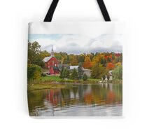 Autumn in Mont Ste-Marie, Quebec Tote Bag