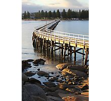 Granite Island Bridge Pt.6 Photographic Print