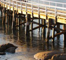 Granite Island Bridge Pt.6 Sticker