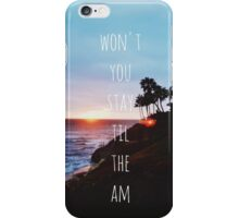 ONE DIRECTION - AM iPhone Case/Skin