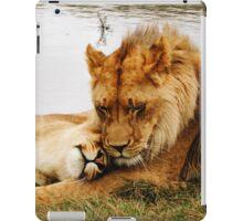 Lion Relationship Goals  iPad Case/Skin