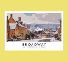 Broadway (Railway Poster) Kids Tee