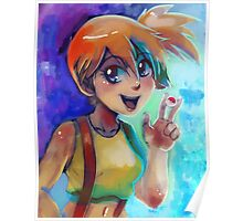 Misty - Portrait Painting Poster