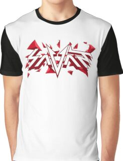 Savant - Red Triangles Graphic T-Shirt
