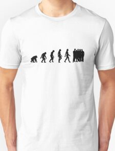 The Evolution of overpopulation T-Shirt